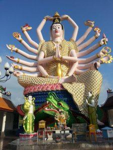 Богиня Гуаньинь в Плай Лаем