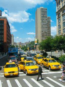 Жовте таксі Нью Йорка