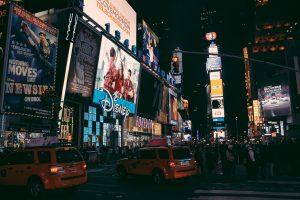 Нью Йорк. Нічний Тайм Сквер